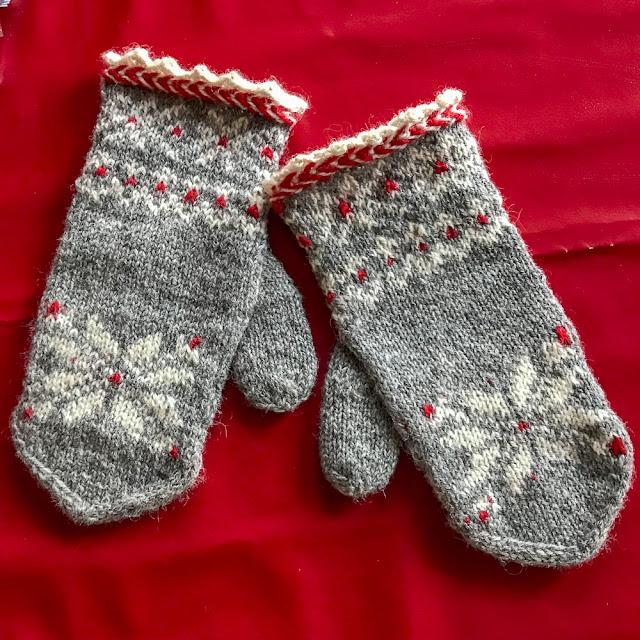 vantar, mittens, julvanten, stickning, knitting