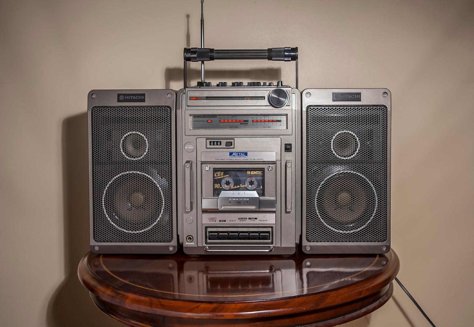 Golden Age Of Audio Hitachi Trk 9140 E Vintage