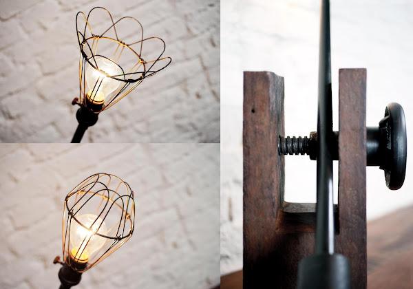 Ruskin復古黃銅桌燈