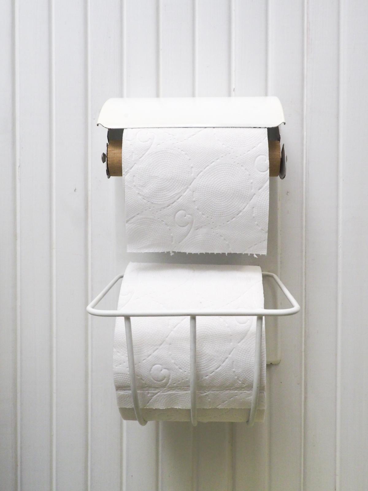 vanha wc paperiteline