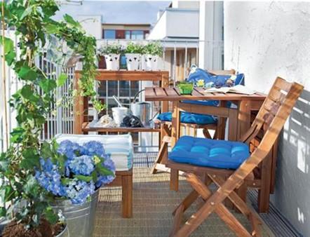 sielankowo czyli wieczny miesi c miodowy projekt balkon. Black Bedroom Furniture Sets. Home Design Ideas