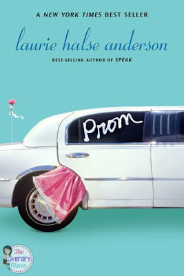 The Literary Maven's book review of Prom by Laurie Halse Anderson, young adult literature.