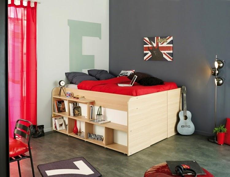 Dise os de dormitorios para j venes adolescentes - Diseno habitacion juvenil ...
