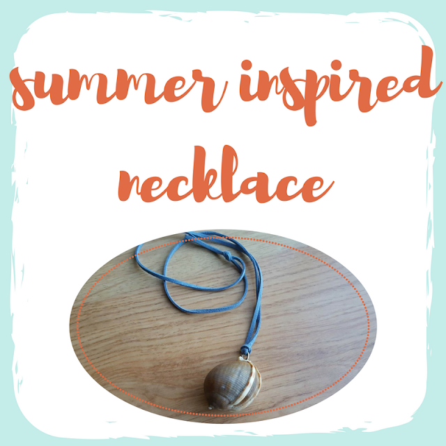 Summer inspired necklace