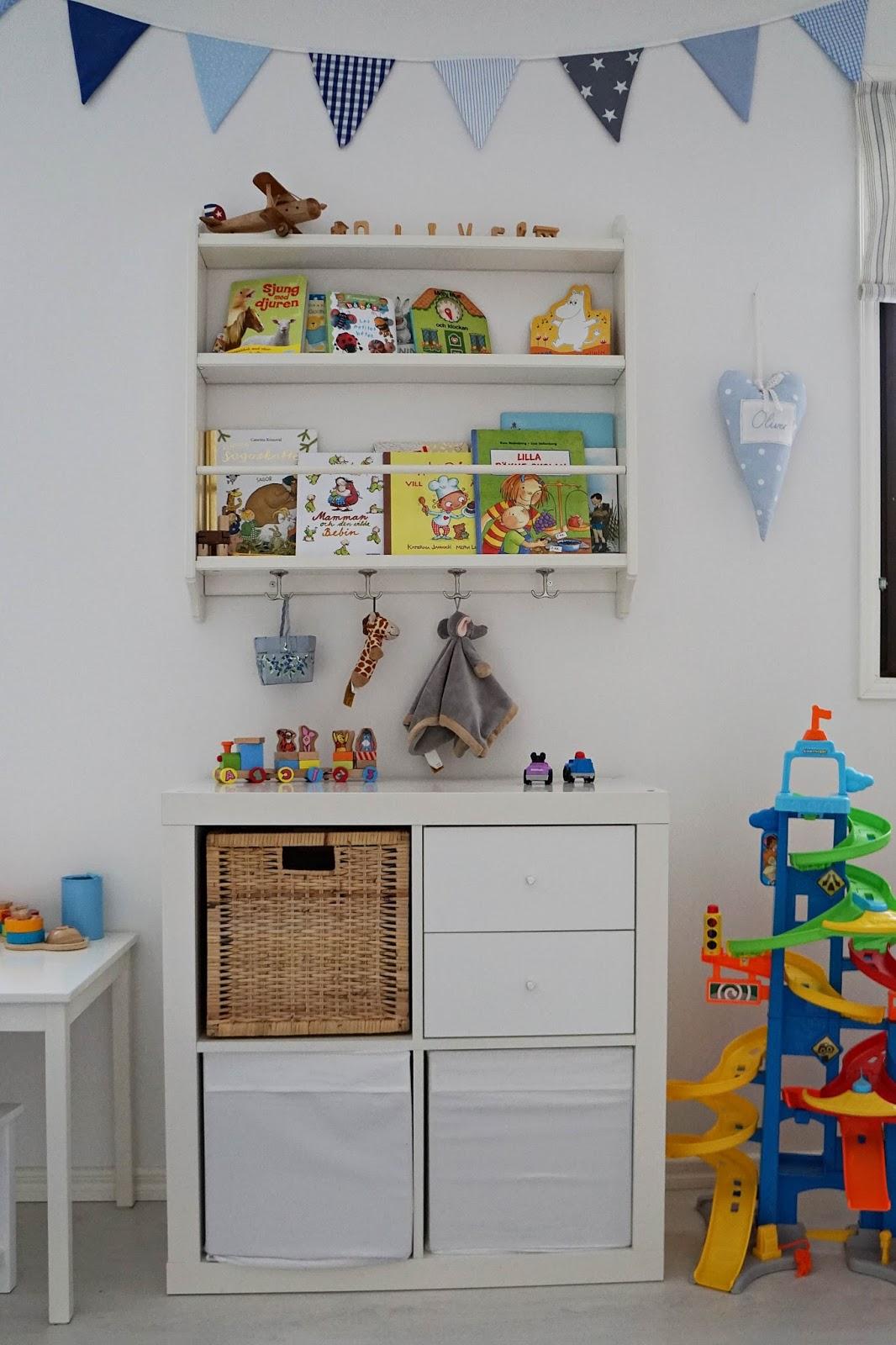 Lilla Hanna i Stora världen Förvaring av leksaker