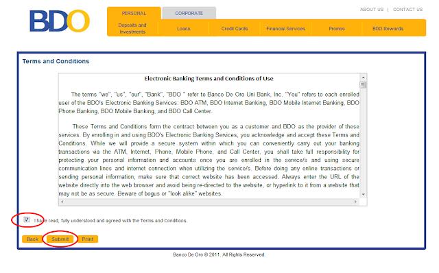 BDO Online Banking