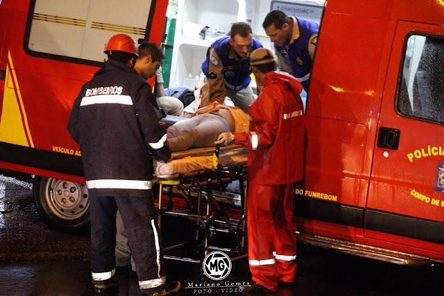 Grave acidente deixa 6 pessoas feridas no São Gabriel em Colombo