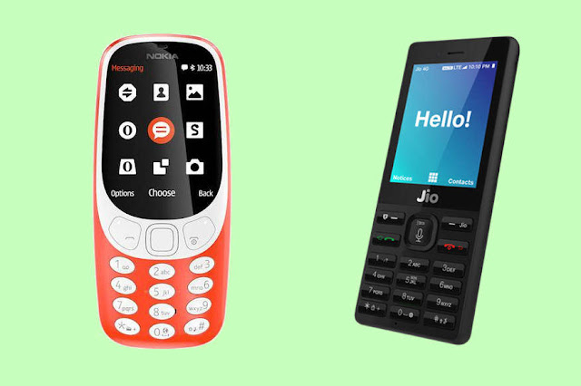 Jio Phone vs Nokia 3310 2017