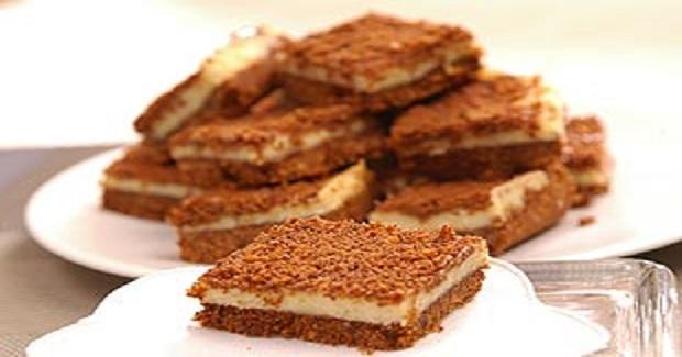 Choco Cheesecake Squares Recipe