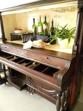 Dishfunctional Designs The Salvaged Repurposed Piano