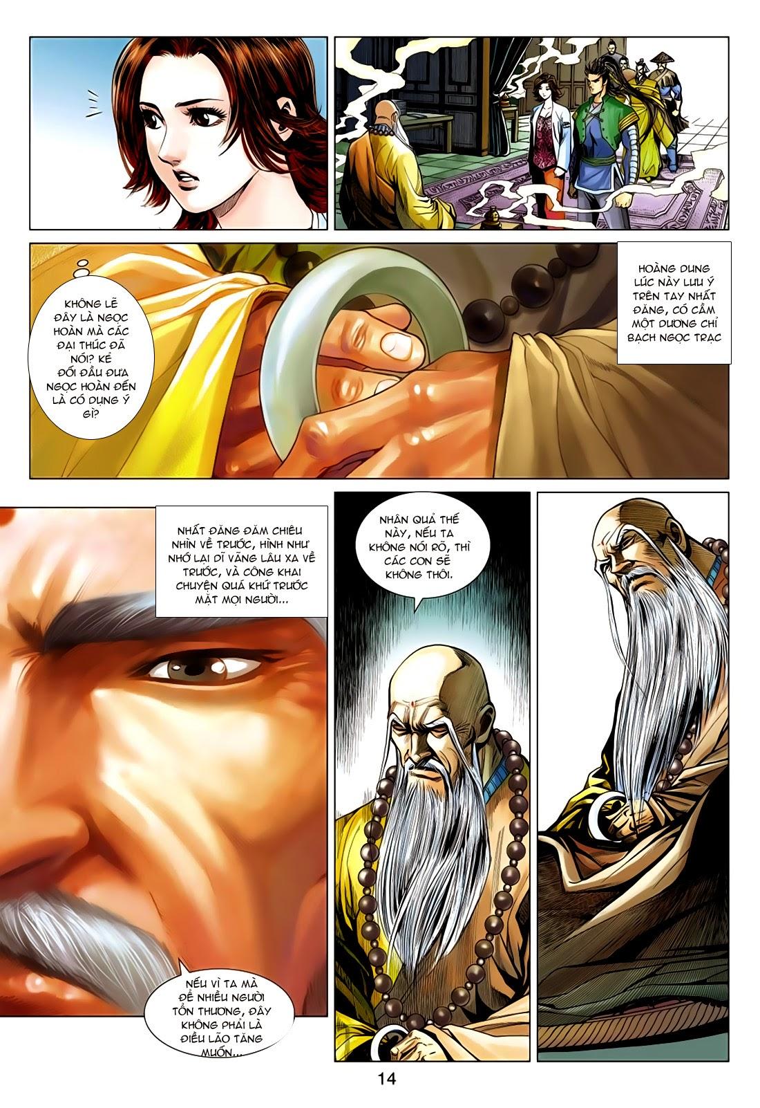 Anh Hùng Xạ Điêu anh hùng xạ đêu chap 75: hoàng thành cựu sự trang 14