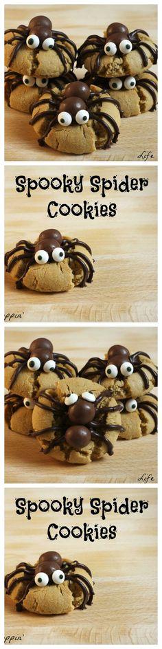 cookies de araña
