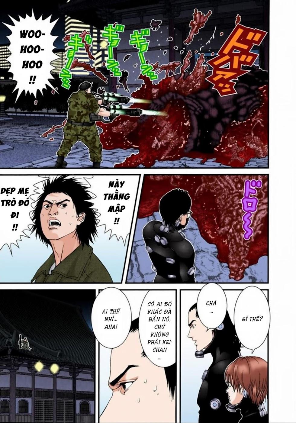 Gantz Chap 67: Phá hủy trang 11