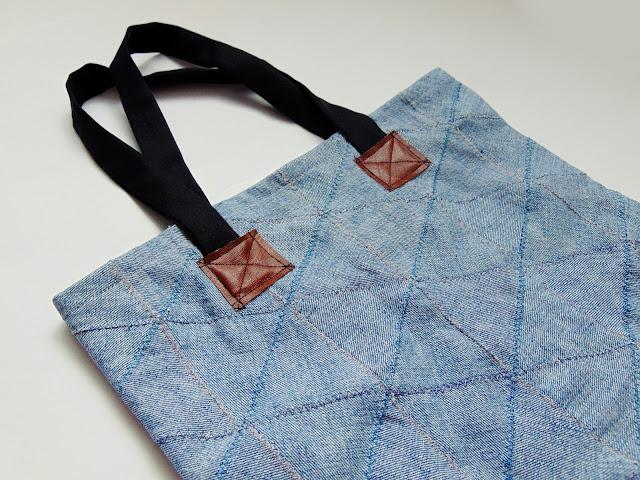 patchworkowa torba DIY