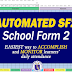 AUTOMATED School Form 2 (SF2) Free Download!