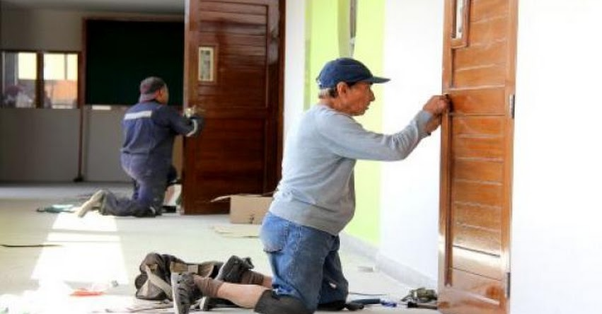 PRONIED transfirió S/ 16.4 millones a 2801 colegios de Ayacucho para el mantenimiento de sus infraestructuras - www.pronied.gob.pe