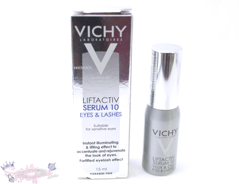 4dd50477c9e REVIEW: Vichy LiftActiv Serum 10 Eyes and Lashes - Sparkly Playground
