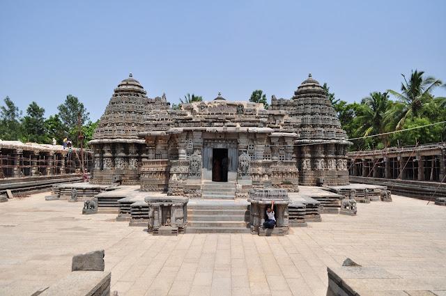 Chennakesava Temple, Somanathapura. Temple in Karnataka, India