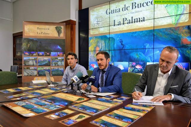 El Cabildo publica la primera guía de áreas de inmersión como apuesta decidida por el turismo de buceo en la isla