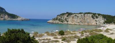Península del Peloponeso, Playa de Voidokilia.