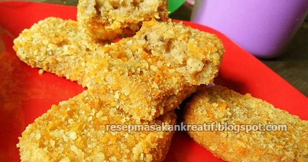 Resep Nugget Pisang Goreng Crispy - Aneka Resep Masakan