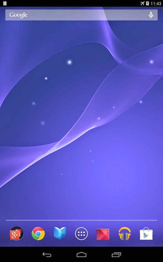 Play Droid: Sony Xperia Z2-Live Wallpaper