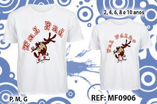 Tal Pai Tal Filho Camisetas Personalizadas taz
