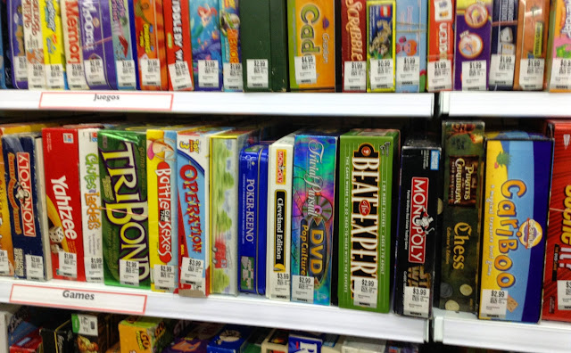 Games at Savers/Value Village