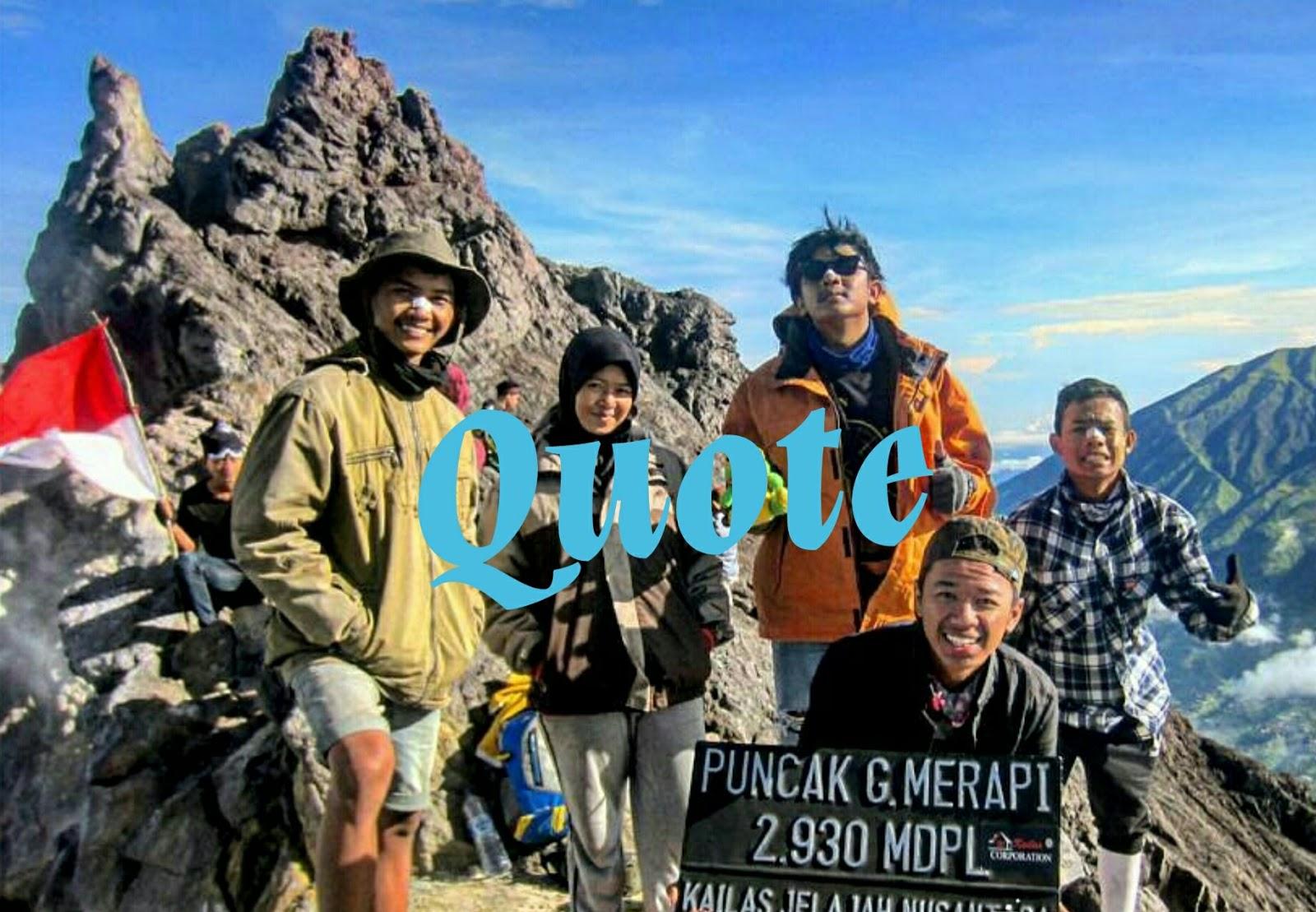 Kata Kata Bijak Pendaki Gunung Part 1 Viapendaki