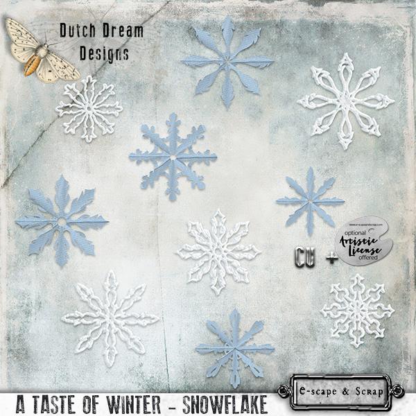 A Taste of Winter Snowflakes