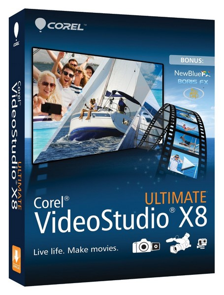 Corel VideoStudio Pro+Ultimate X8 18.6.0.6 Multilingual (x86x64) Incl Keygen