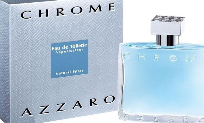 parfum pria terbaik terlaris yang disukai wanita Azzaro Chrome