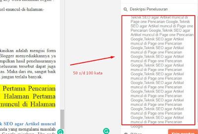 Teknik SEO agar Artikel muncul di Halaman Pertama Pencarian Google