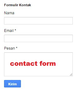 gambar contact form