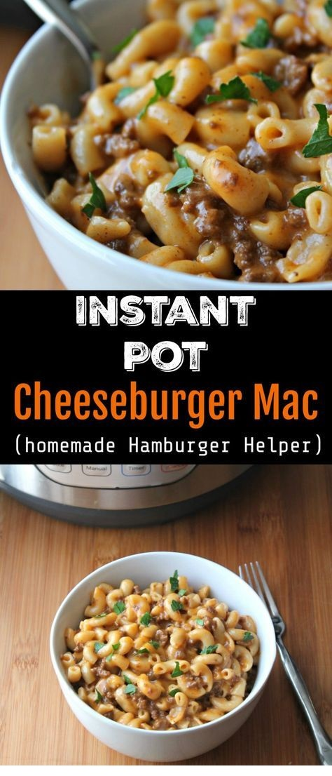 Instant Pot Cheeseburger Mac