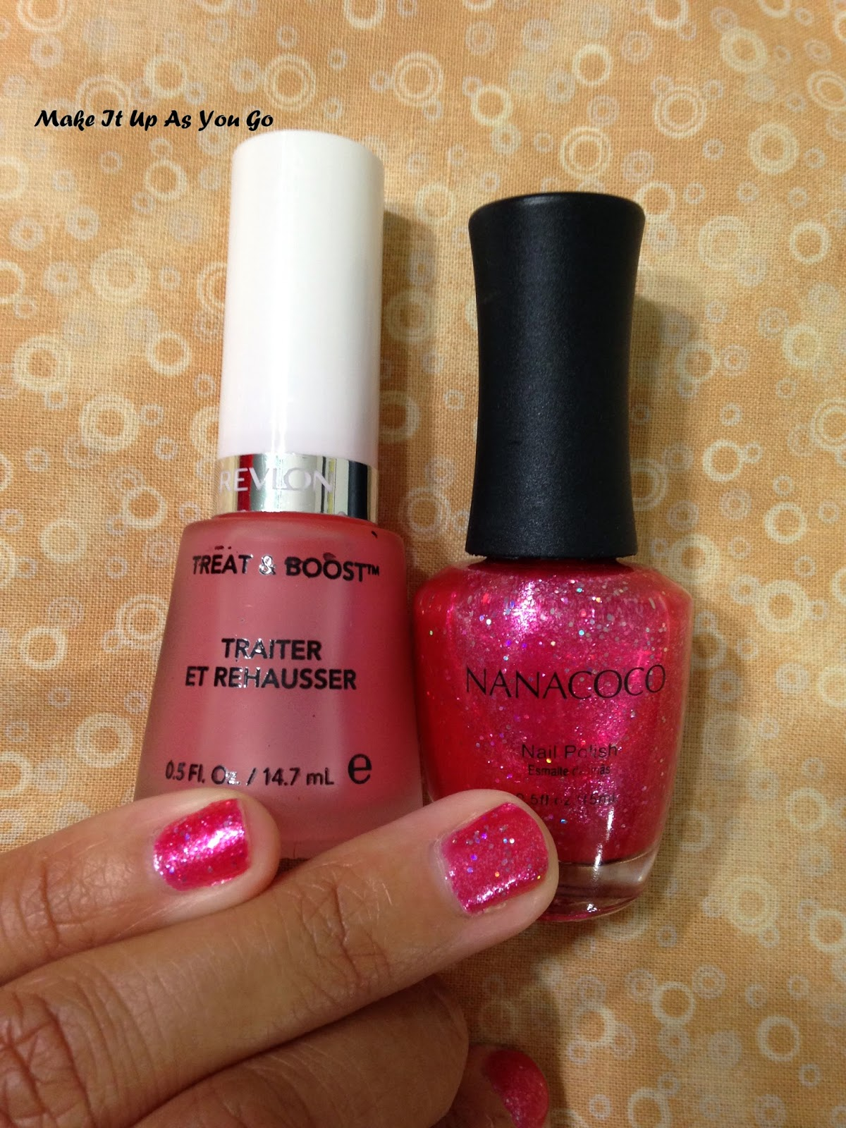 Make It Up As You Go: Nail Polish Change - Nanacoco in Las Vegas