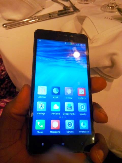 New Innjoo Smartphone Unveiled Today With The Following