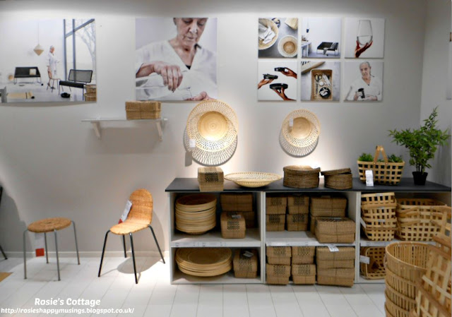 Ikea VIKTIGT Collection bamboo baskets & dishes