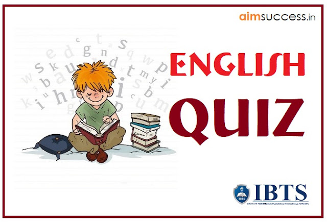 English MCQ  for SBI PO/Clerk 2018: 29 May