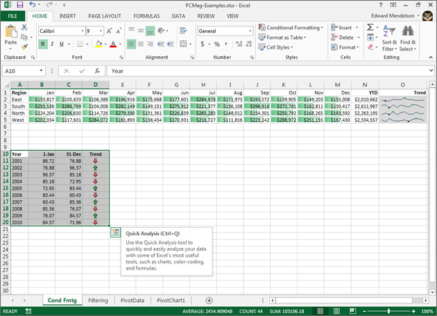 Everything Windows: Review: Microsoft Excel 2013 from PCMag com