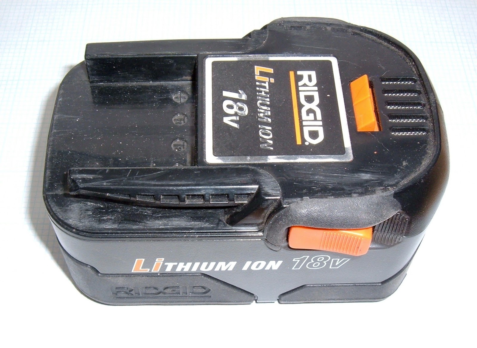 Syonyk S Project Blog Rigid 18v Lithium Ion Tool Battery