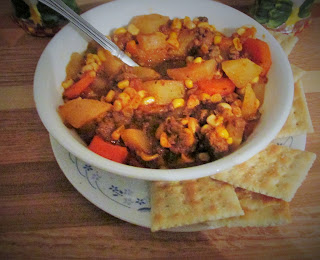 Crockpot Hamburger Stew