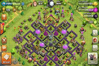 clash of clans defense