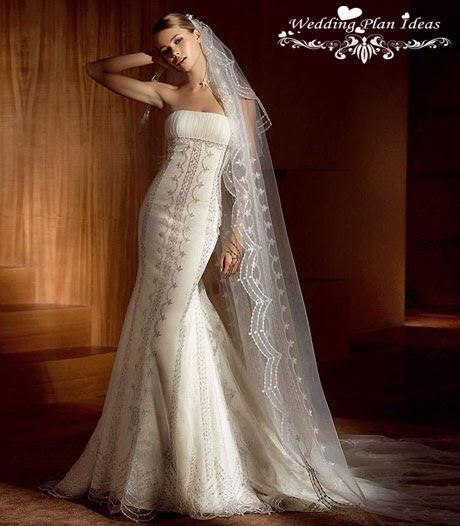 Bridal Wedding Dresses: 2011 Lace White Sleeve Wedding