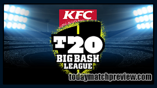 Today BBL 2019 23rd Match Prediction Melbourne Renegades vs Hobart Hurricanes