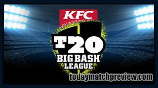 Today BBL 2019 23rd Match Prediction Melbourne Renegades vs Hobart Hurricanes