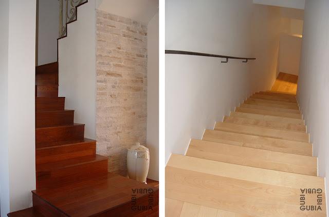 Escaleras de madera a medida espacios en madera - Madera a medida ...