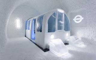 Vẻ đẹp ấn tượng bên trong khách sạn băng giá ở Thụy Điển 12