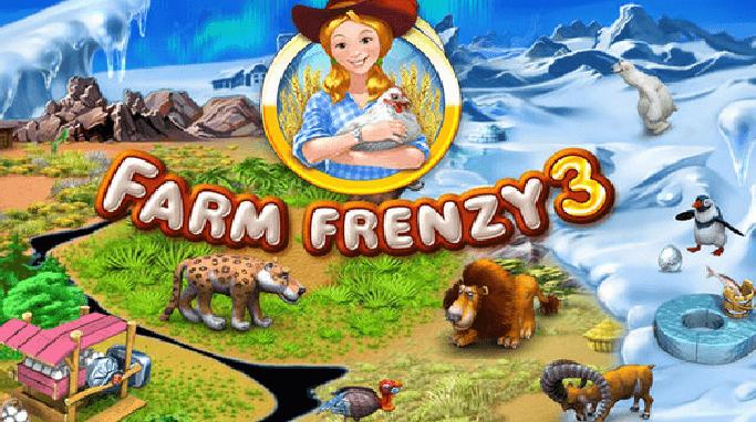 تحميل لعبة مزرعة الحيوانات Farm Frenzy 3 للكمبيوتر برابط واحد مباشر