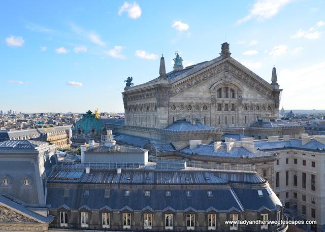 Opera Garnier from Galeries Lafayette
